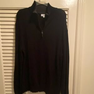 Calvin Klein Sweater with Zipper, Size L